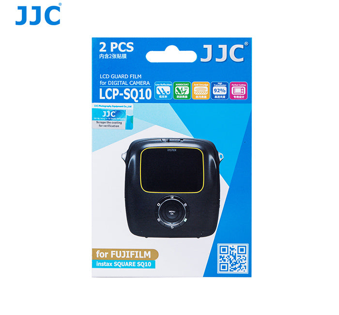 JJC LCD Guard Film for FUJIFILM instax SQUARE SQ10