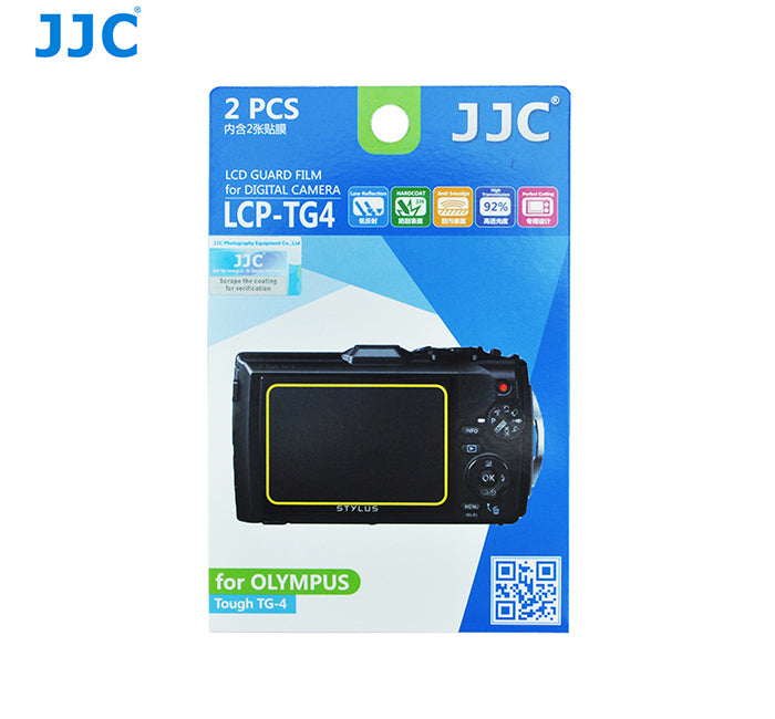 JJC LCD Guard Film for OLYMPUS Tough TG-4,TG-5,TG-3
