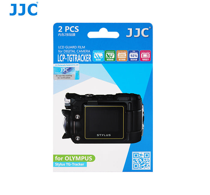 JJC LCD Guard Film for Olympus Stylus TG-Tracker