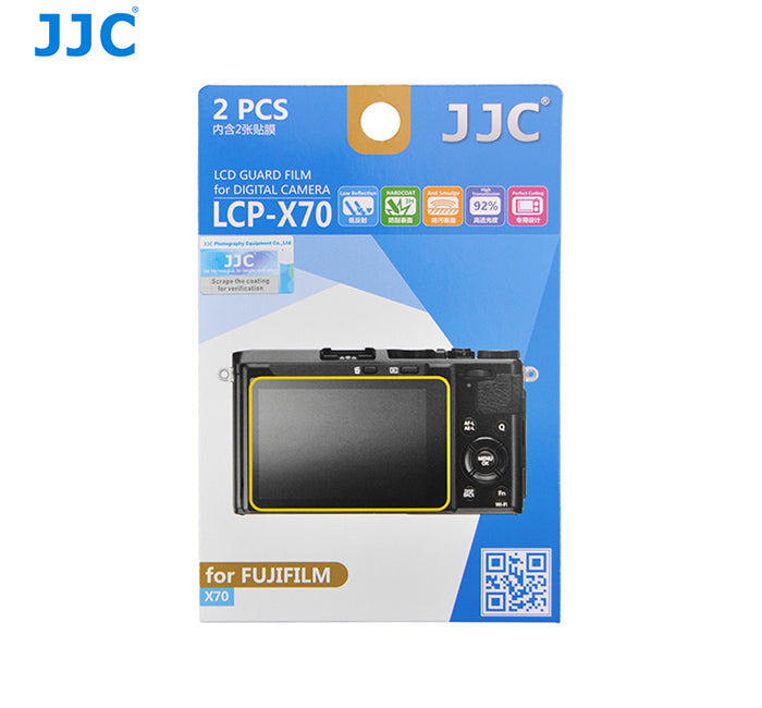 JJC LCD Guard Film for FUJIFILM X70