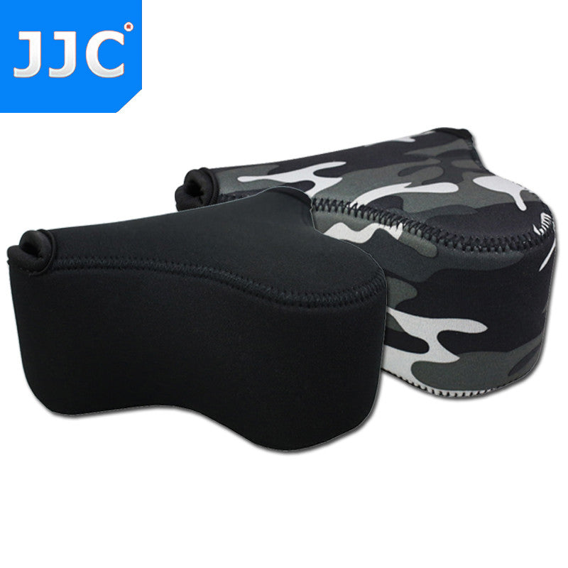 JJC OC-S2 Neoprene Mirrorless Camera Pouch Case for Fujifilm X-M1/X-T10/X-A2