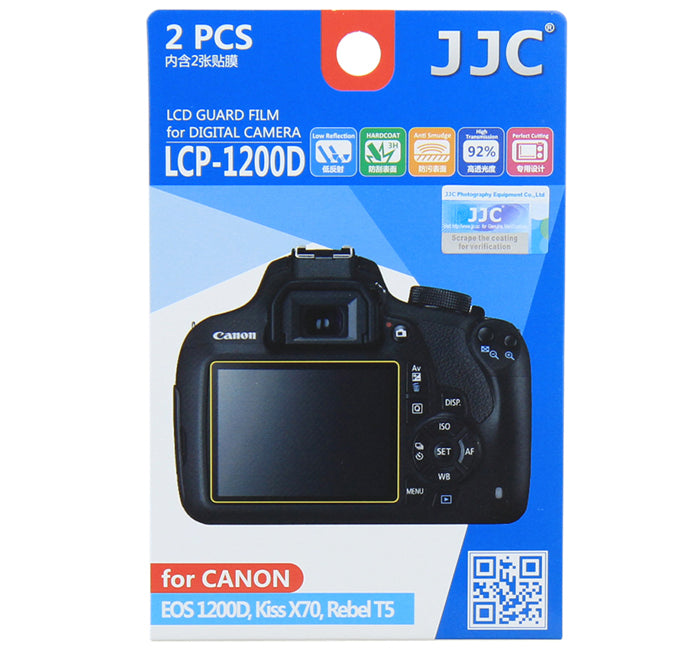 JJC LCD Guard Film for CANON EOS 1200D/Kiss X70