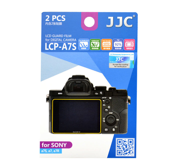 JJC LCD Guard Film for SONY A7S/A7/A7R