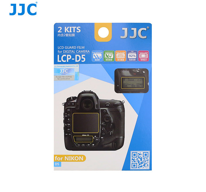 JJC LCD Guard Film for NIKON D5
