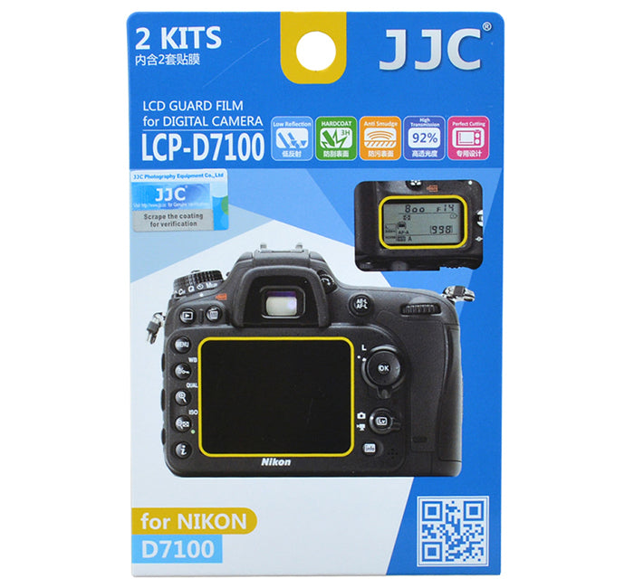 JJC LCD Guard Film for NIKON D7100 D7200