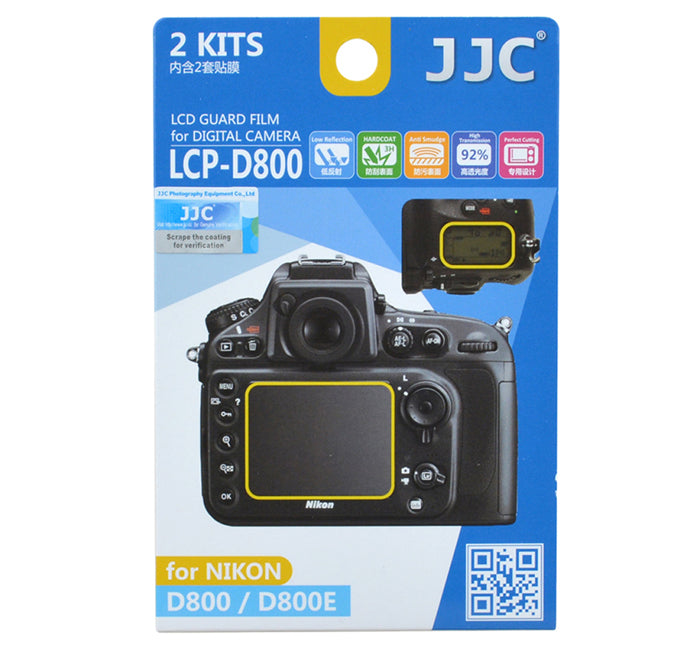 JJC LCD Guard Film for NIKON D800/D800E
