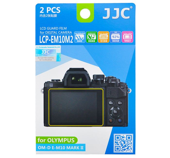 JJC LCD Guard Film for OLYMPUS PEN-F, E-M10 MARK II, E-PL7, E-M, E-M1 Mark II,E-M10, E-P5, E-M5 MARK II