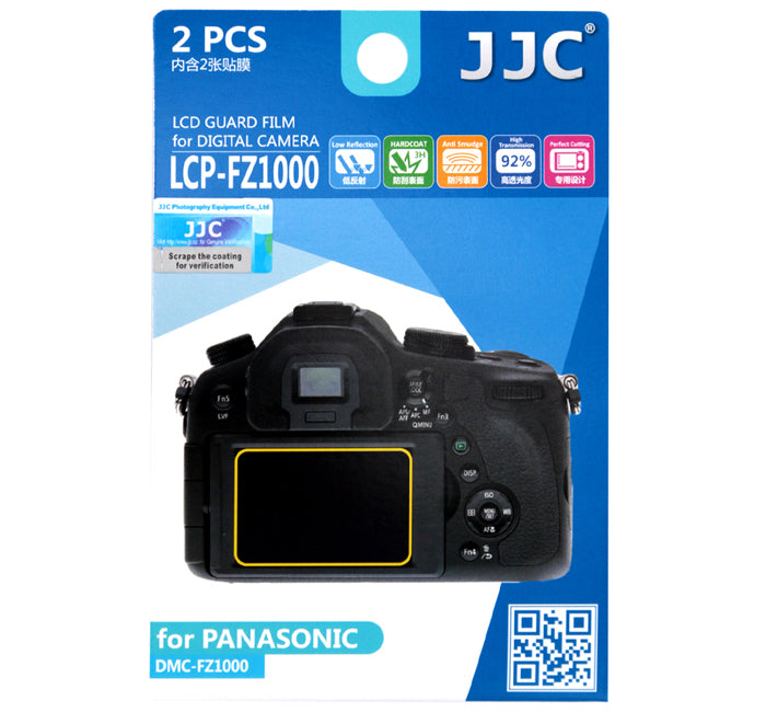 JJC LCD Guard Film for Panasonic FZ1000