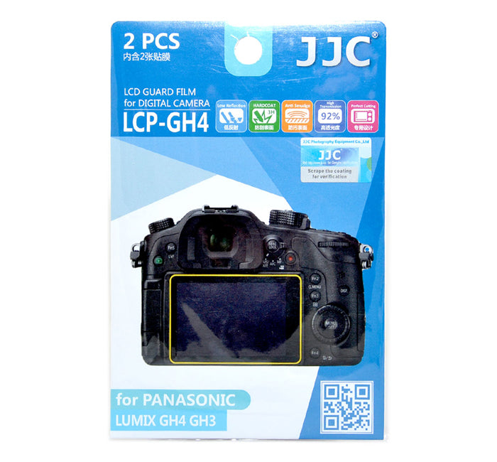 JJC LCD Guard Film for PANASONIC LUMIX GH4 GH3 GX8