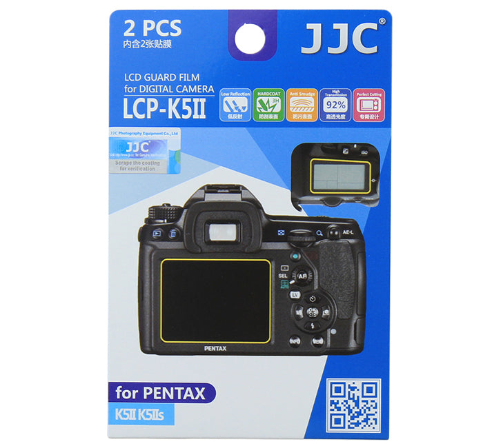 JJC LCD Guard Film for PENTAX K5II/K5IIs