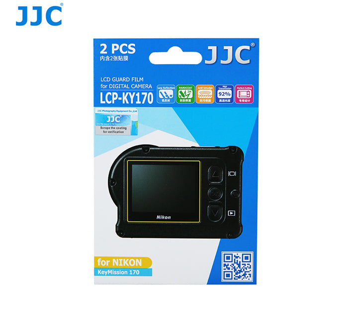 JJC LCD Guard Film for Nikon KeyMission 170
