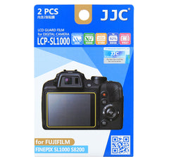 JJC LCD Guard Film for FUJIFILM FINEPIX SL1000/S8200