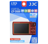 JJC LCD Guard Film for CANON POWERSHOT SX600HS