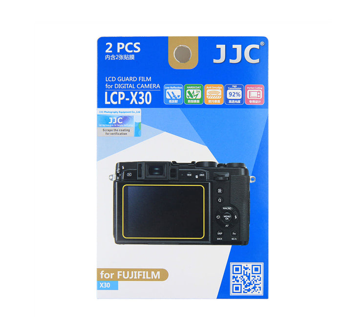 JJC LCD Guard Film for Fujifilm FINEPIX X30