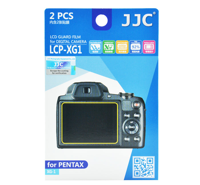 JJC LCD Guard Film for Pentax XG-1