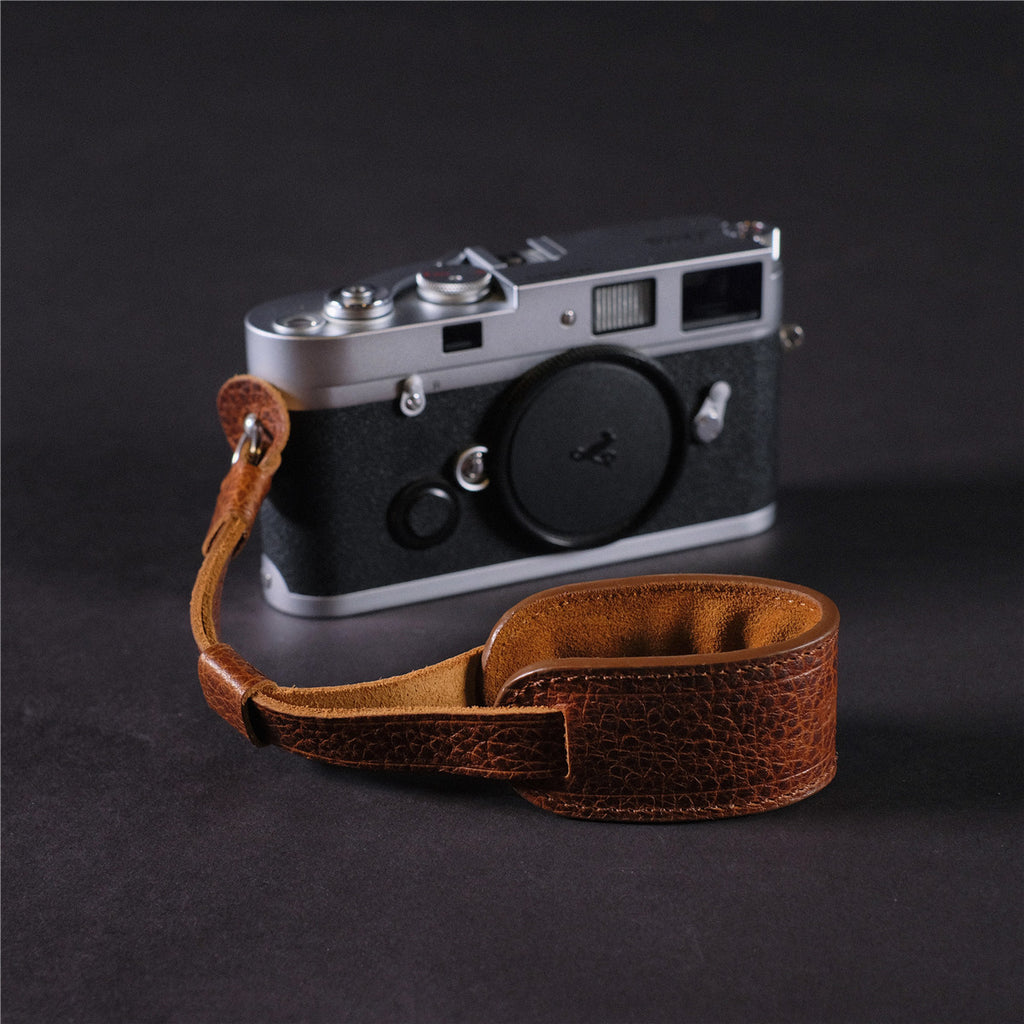 Cam-in LWS-00403 Cowhide Genuine Leather Camera Wrist Strap