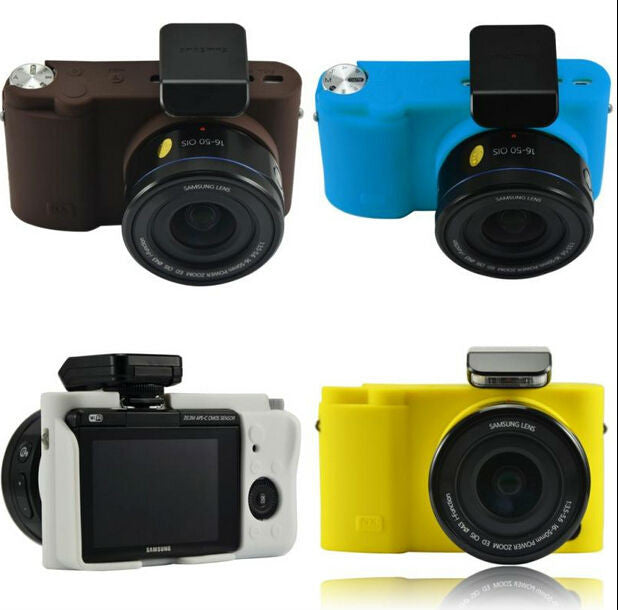 Silicone Rubber Case for Samsung NX3000 NX3300 20-50mm