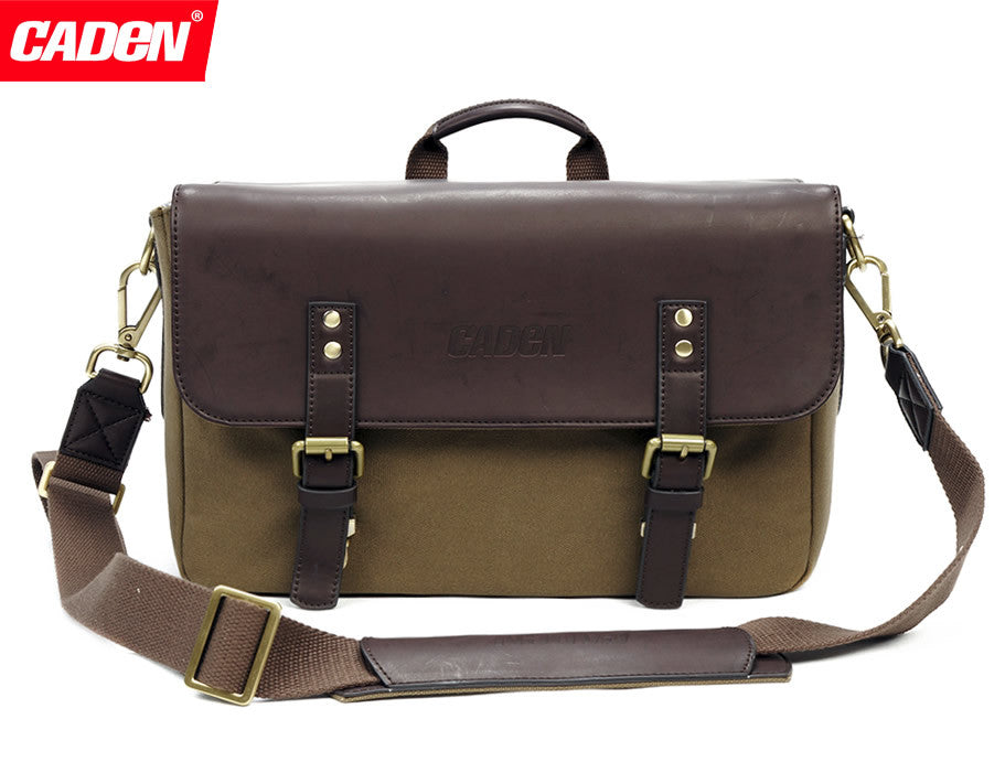 CADEN P2 Retro Style Camera Bag
