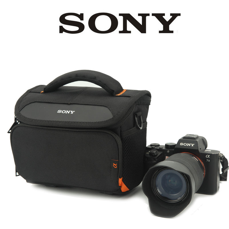 Bag with Strap and Raincover for Sony