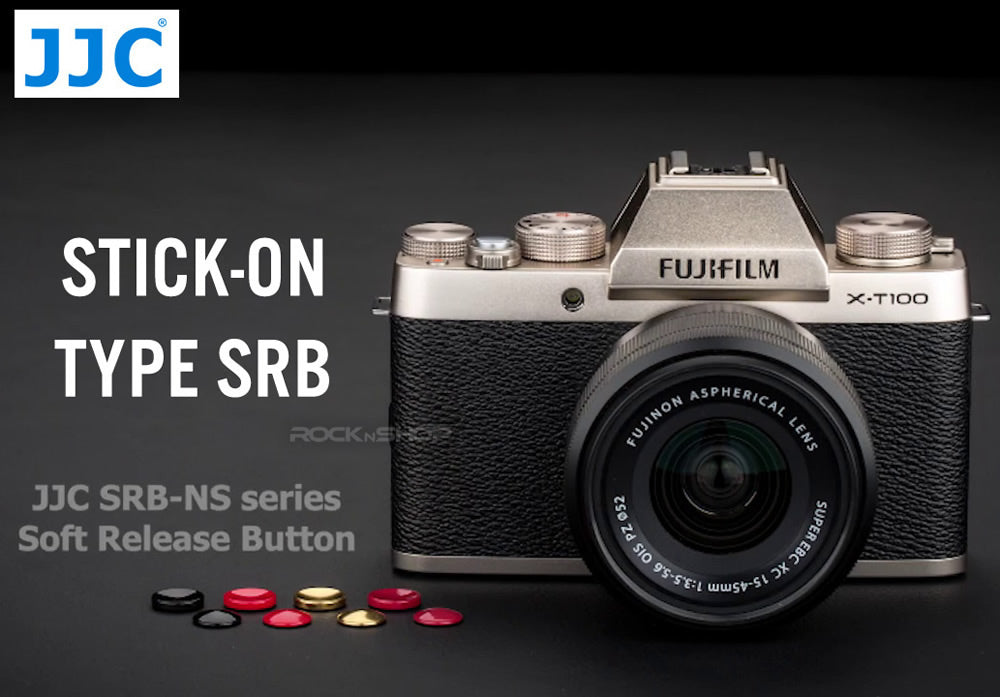 JJC SRB-NS Series Stick-on Type Soft Shutter Release Button for Non-Threaded Cameras SONY FUJI CANON