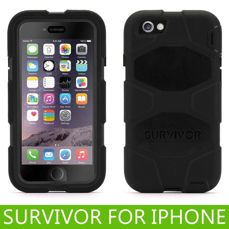 Griffin Survivor Carrying Case with clip for iPhone 6 / 6S Plus