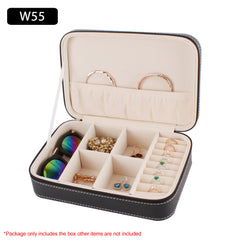 Leather Jewelry Watch Sunglasses Storage Box