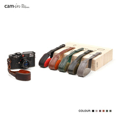 Cam-in WS013 Series Genuine Leather Camera Wrist Strap