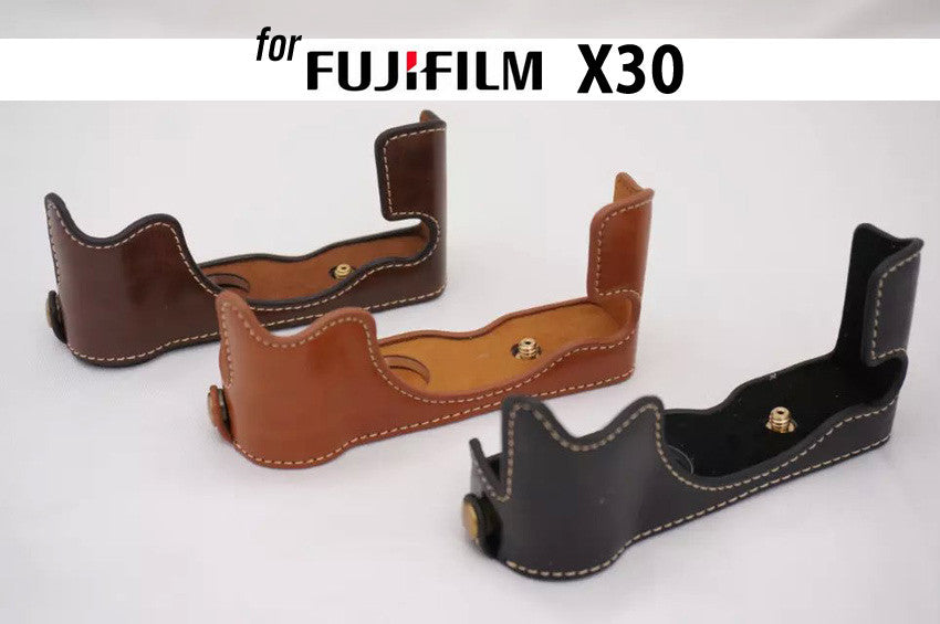 Leather Half Case for Fujifilm X30 (version 1)