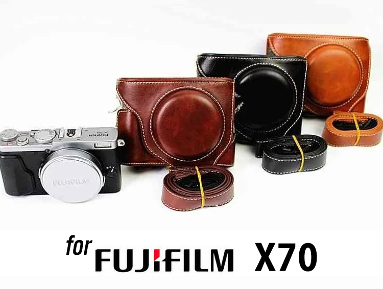 Leather Case Holster for Fujifilm X70