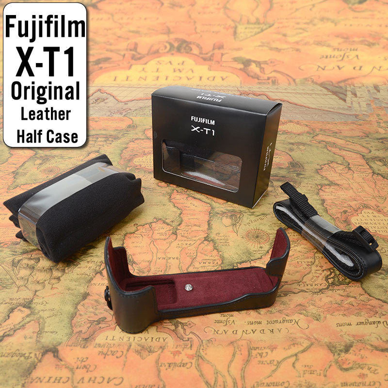 FUJIFILM BLC-XT1 Genuine Leather Compact System Camera Case