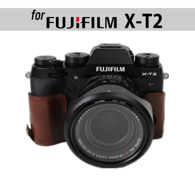 Leather Half Case for FujiFilm X-T2