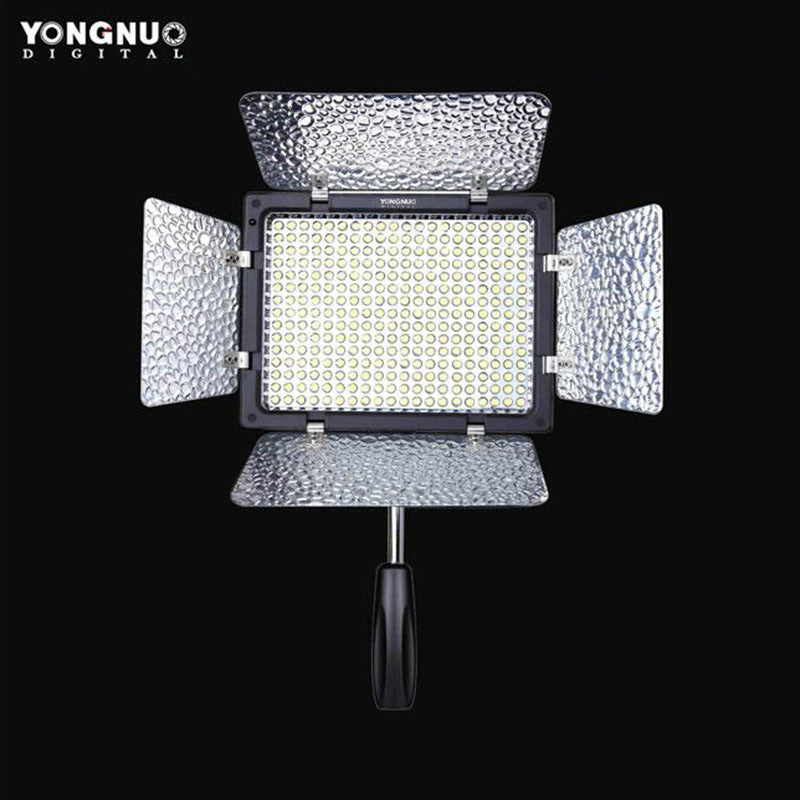 Yongnuo YN-300 II Camera LED Video Light Adjustable dimming Color Temperature 3200k-5500k for DSLR Canon Nikon with IR Remote