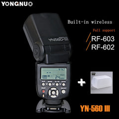 YONGNUO YN-560 III 2.4G Wireless Flash Speedlight for Nikon Canon