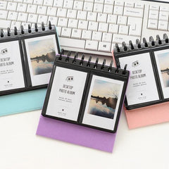 3 inch Desktop Calendar Photo Album for Fujifilm Instax Mini | 68 Pockets
