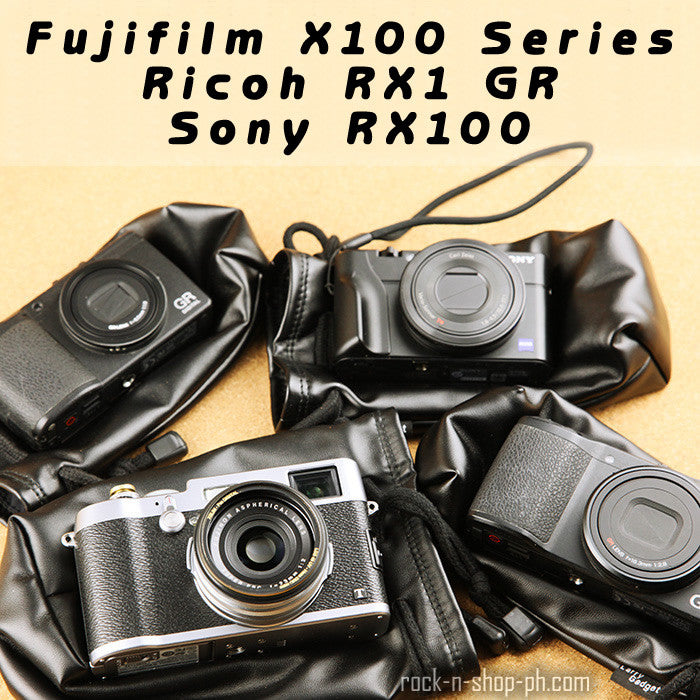 [Larry Gadget Store] Custom Tailored Leather Camera Pouch for X100T RX1 X70  GR RX100