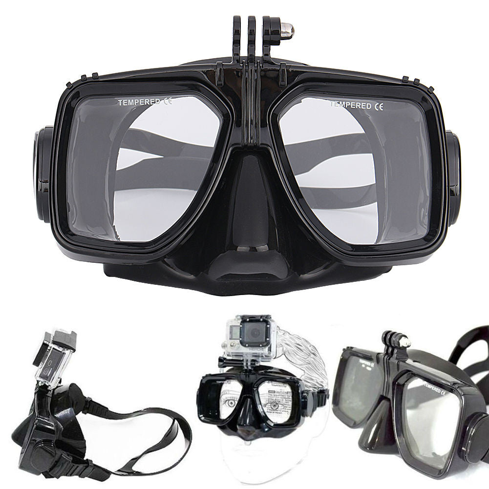 Diving Mask Suitable for GoPro & Similar Mounting Cameras