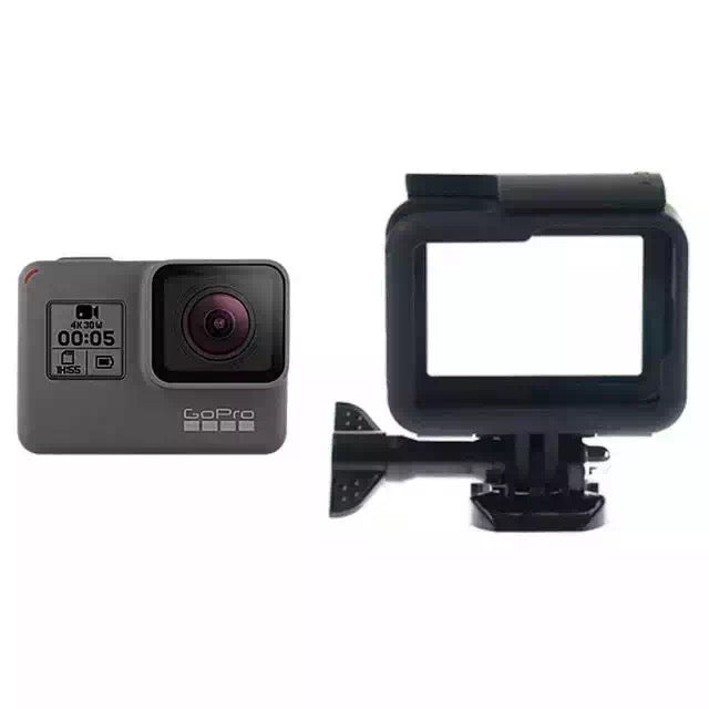 Black Standard Border Frame Case for GoPro Hero 5