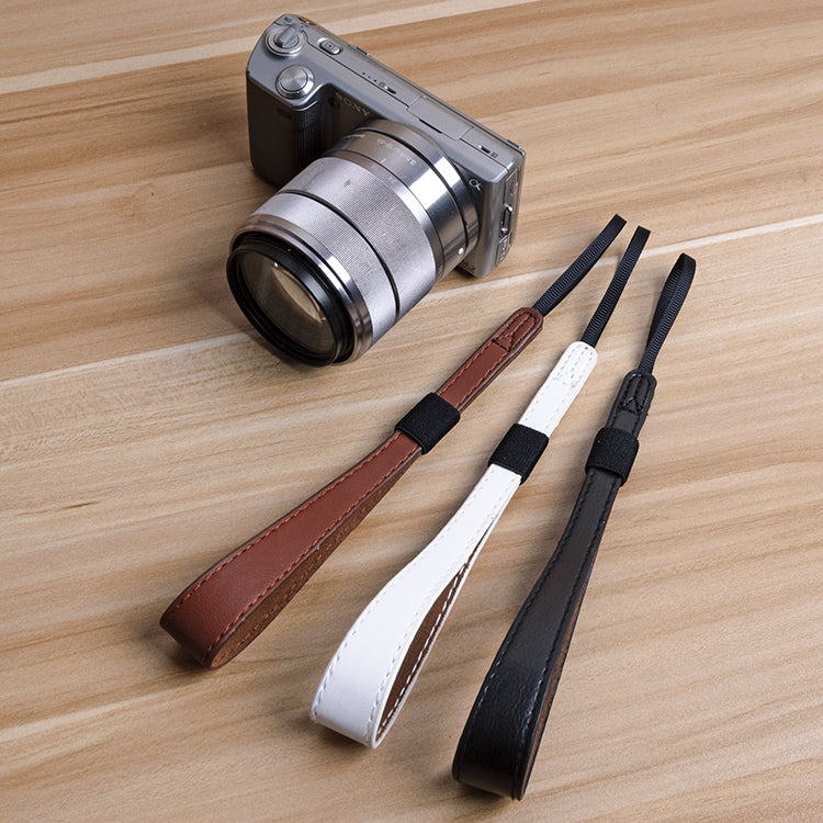 Leather Wrist Strap for Cameras
