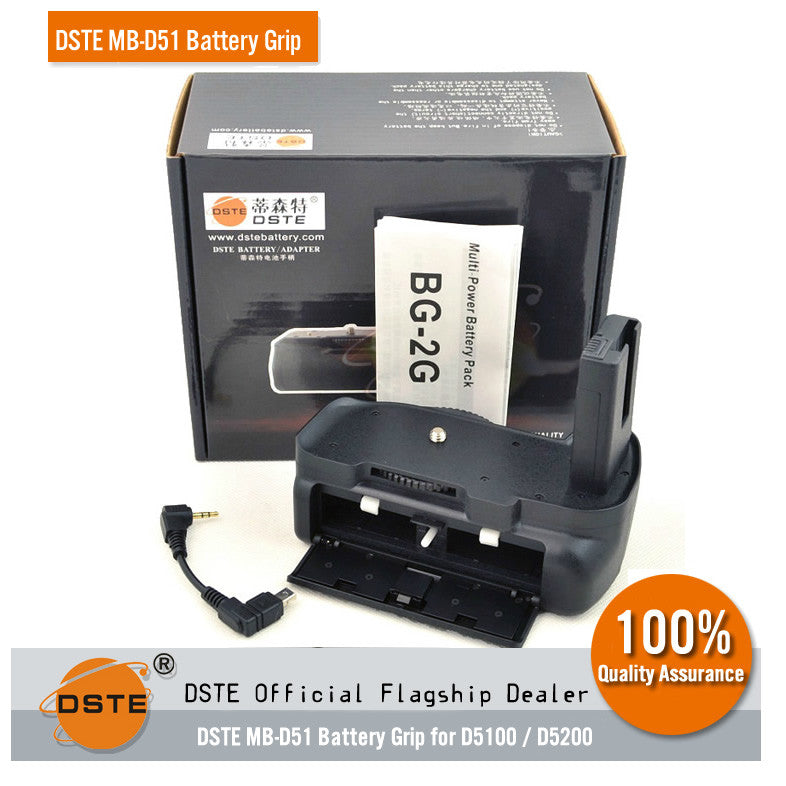 DSTE MB-D51 Battery Grip for Nikon D5100 D5200