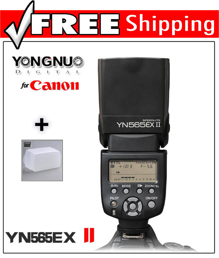 YONGNUO TTL Flash Speedlite YN-565EXII for Canon