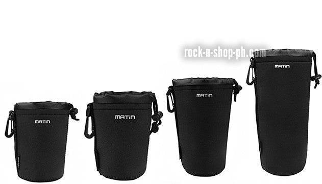 Matin Neoprene Soft Camera Lens Pouch Bag Case Waterproof