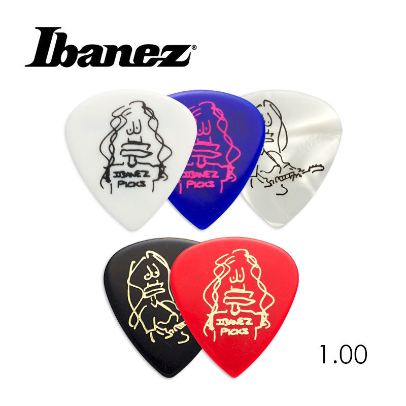 Ibanez Paul Gilbert Blue Signature Picks 1.0mm (original)