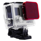 Diving Housing Under Water Sea Dive Lens Color Filter For GoPro hero 3+