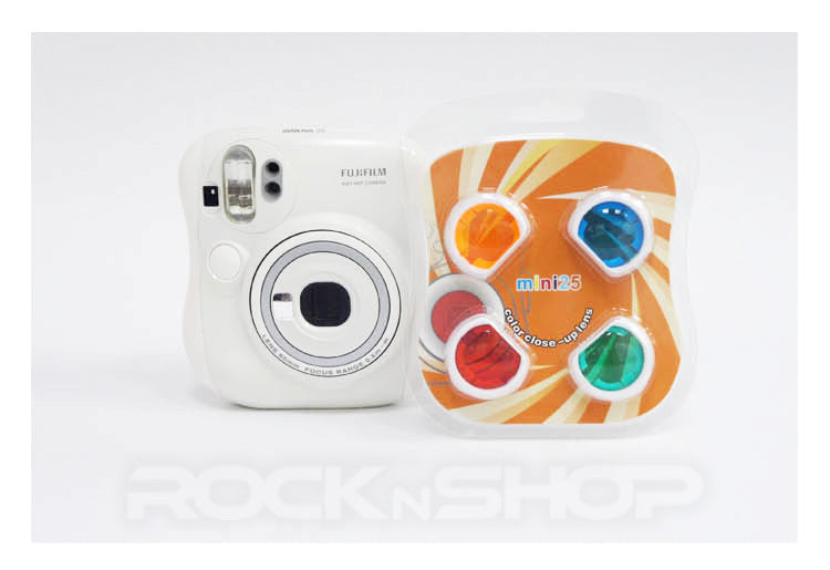 4 Colors Filter Close-Up Lens for Fujifilm Instax Mini 25