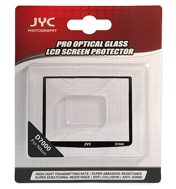 JYC Camera Glass LCD Screen Protector Cover Film for Nikon D7000