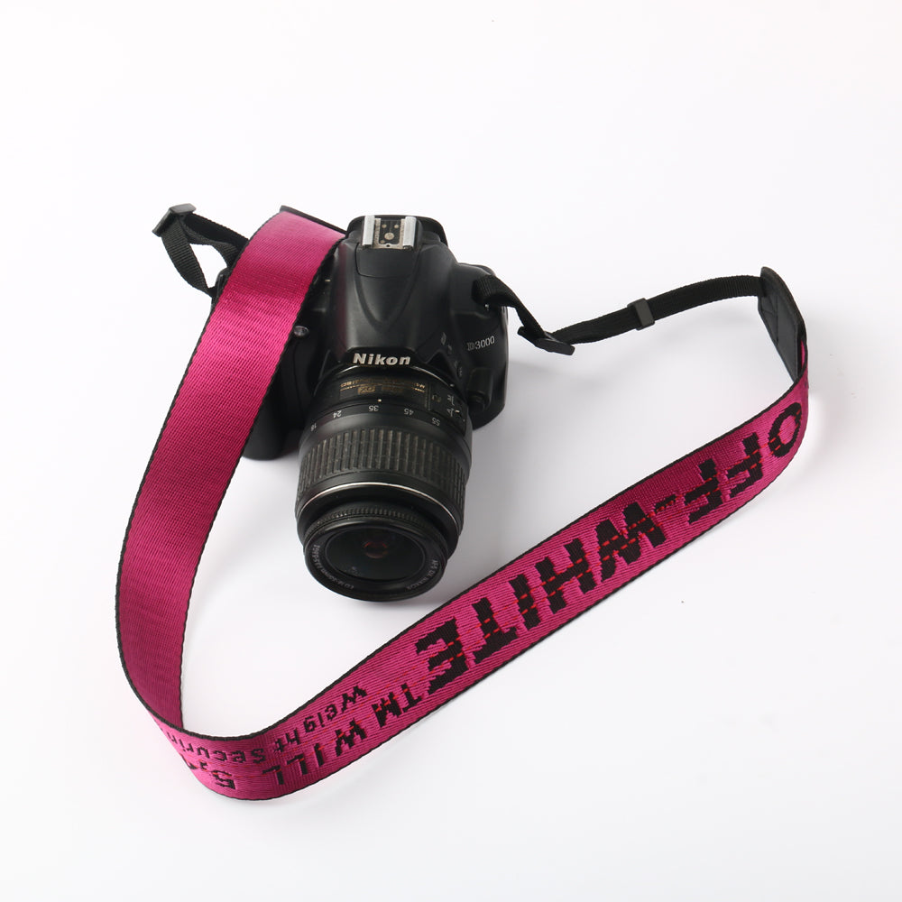 OFF-WHITE camera strap for Canon Nikon Fujifilm Instax Sony