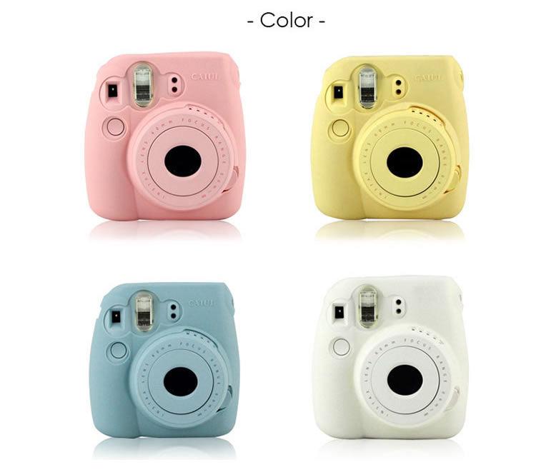 Caiul Silicone Case for Fujifilm Instax Mini 8/8S/9