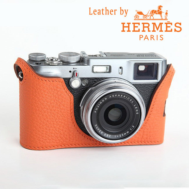 [Larry Gadget Store] Custom Handmade Leather Case for Fujifilm X100T X100 X100s