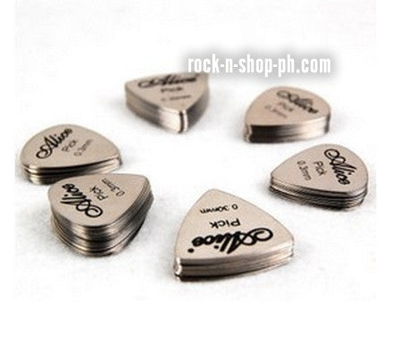 Alice Metal Guitar Picks AP100S 0.3mm