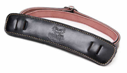 SOLDIER Slash Style Electric Guitar/Bass Leather strap